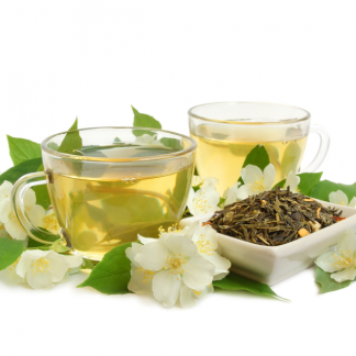 зеелн чай с жасмин