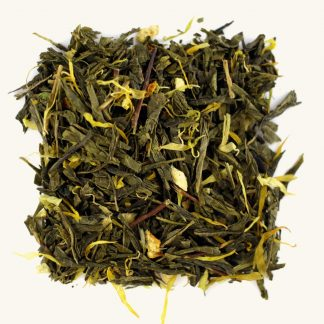 зелен чай с манго
