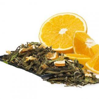 зелен чай с портокал